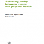 Whole-Person Care in Mental Health: From Rhetoric to Reality