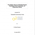 The Hidden Abuse of Disabled People Residing in the Community: An Exploratory Study