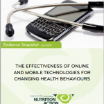 The Effectiveness of Online and Mobile Technologies for Changing Health Behaviour