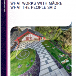 What works with Māori: What the People Said Research Report