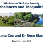 Window on Waikato Poverty Imbalances and Inequalities: Issue Five – July 2013