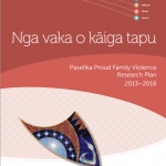 Pasefika Proud Family Violence Research Plan Launched