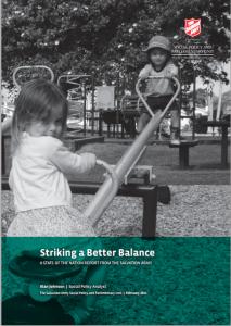 striking a better balance