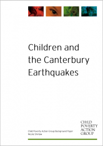 children and canterbury earthquakes
