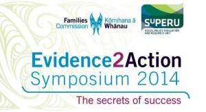 Evidence2Aciton symposium banner