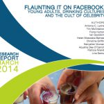 Flaunting it on Facebook – drinking cultures report released