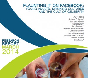 Flaunting it on Facebook research report cover