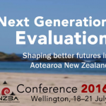 Next Generation Evaluation Conference 2016