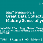 RBA™ Webinar No.3 – Great data collection, and making sense of your data